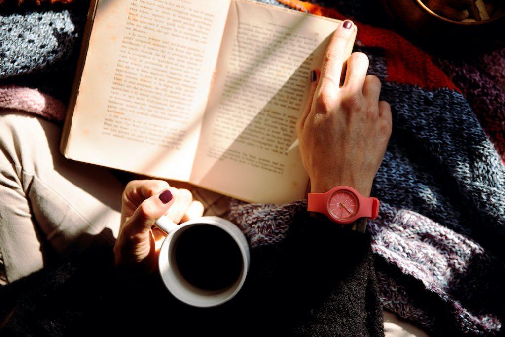 Reading Spiritual Book on Contemplation